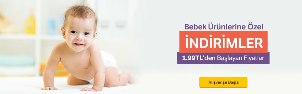 Seçili Bebek Ürünlerinde Özel İndirim
