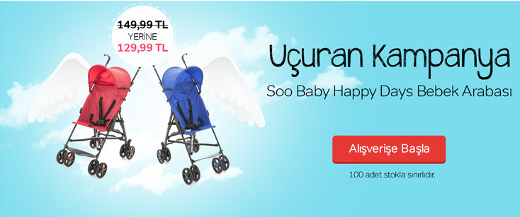Soo Baby Happy Days Baston Pusete Özel Fiyatlar