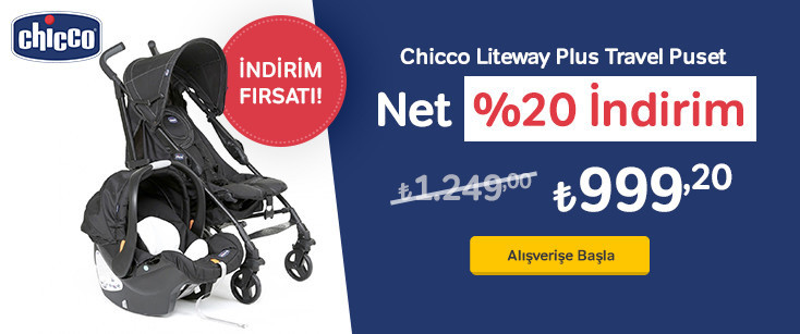 Chicco Liteway Puset