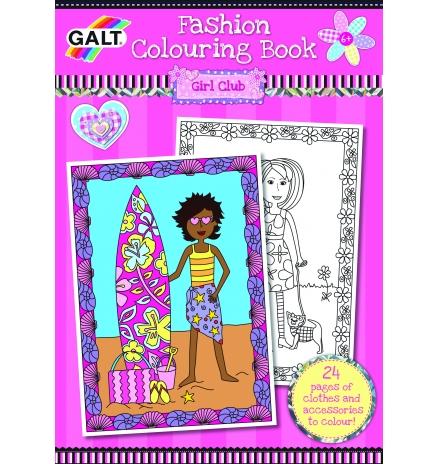 galt fashion colouring book 6 yaş