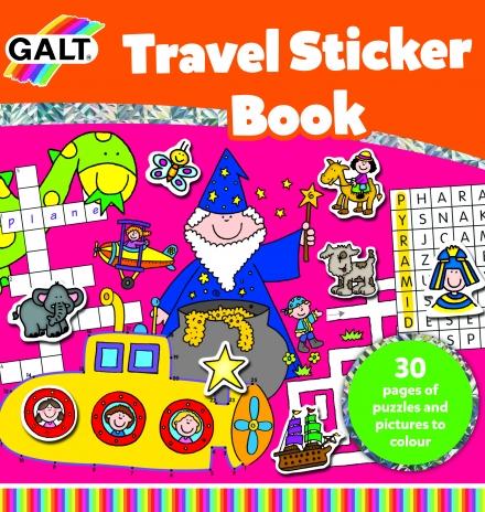 galt travel sticker book 6 yaş
