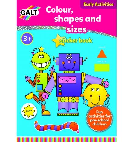 galt colour, shapes and sizes 3 yaş