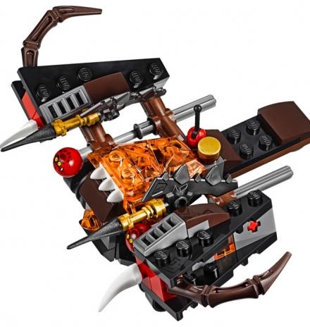 lego nexo knights glob fırlatıcı 70318