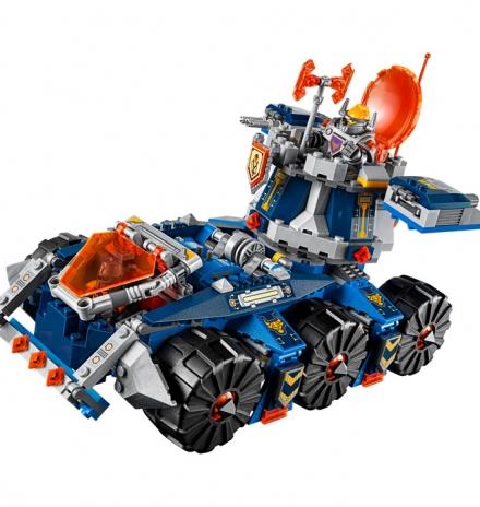 lego nexo knights axl in kuleli nakil aracı 70322