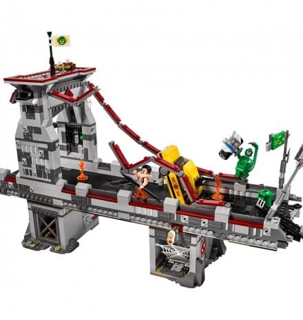lego super heroes spider-man ağ savaşçılarının muhteşem köprü muharebesi 76057