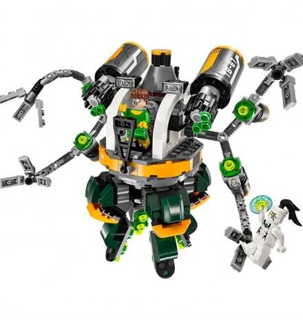 lego super heroes spider-man doc ock un tuzağı 76059