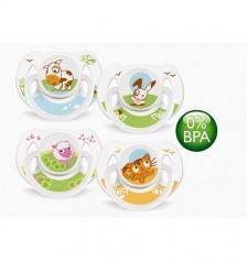 Avent BPA Free Silikon 2 li Emzik Truman 6-18 Ay