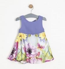 Kız Çocuk Elbise Lila 3Y Soobe
