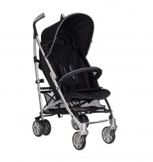 Soo Baby Chrome Baston Lüx  Puset / Negro