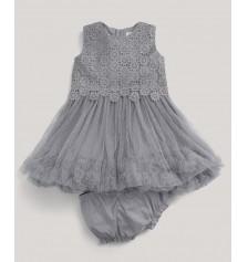 M&P Önü Çiçekli Tüllü Elbise Mamas Papas