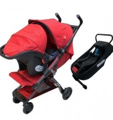 Good Baby Q Fold Travel Set / Red