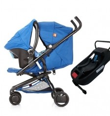 Good Baby Q Fold Travel Set / Blue
