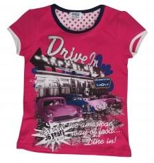 Joker Soobe Kız Çocuk T-Shirt Fuşya