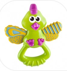 B Kid's  Bubbly Bırd Teether