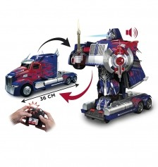 Transformers Autobot Optimus Prime Car/Robot Transformer