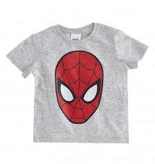 Soo be Erkek Çocuk T-Shirt Açık Gri Melanj Soobe
