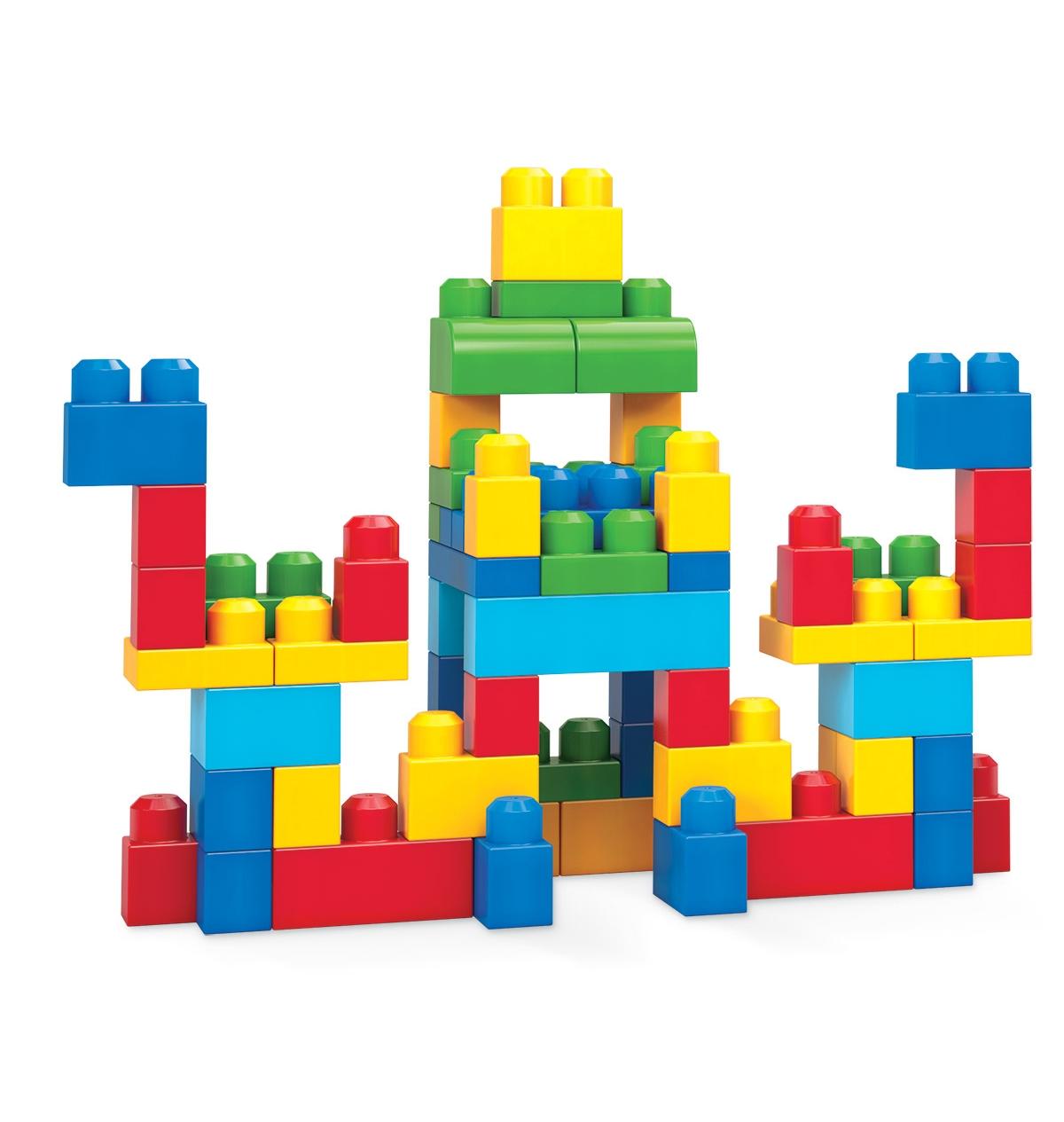 Mega bloks first builders 60 39 l blok torbalar joker for Builders first